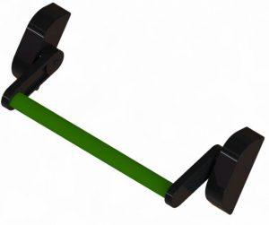barra-antipanico-de-empuje-verde