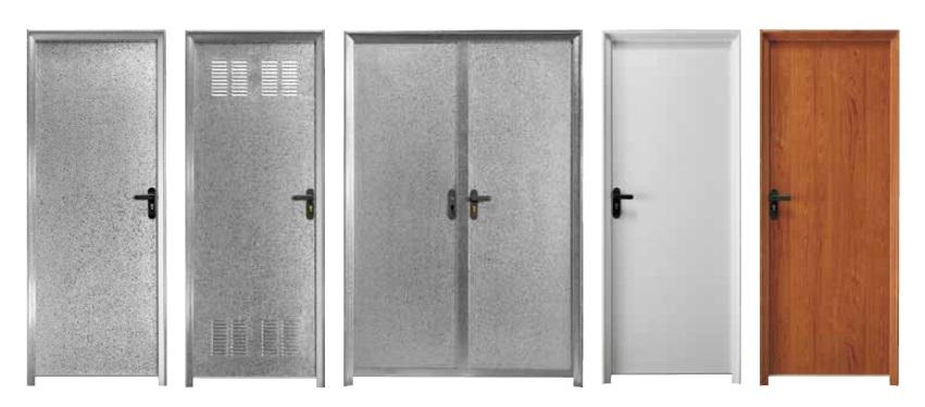Puerta multiusos rubio for Puertas galvanizadas