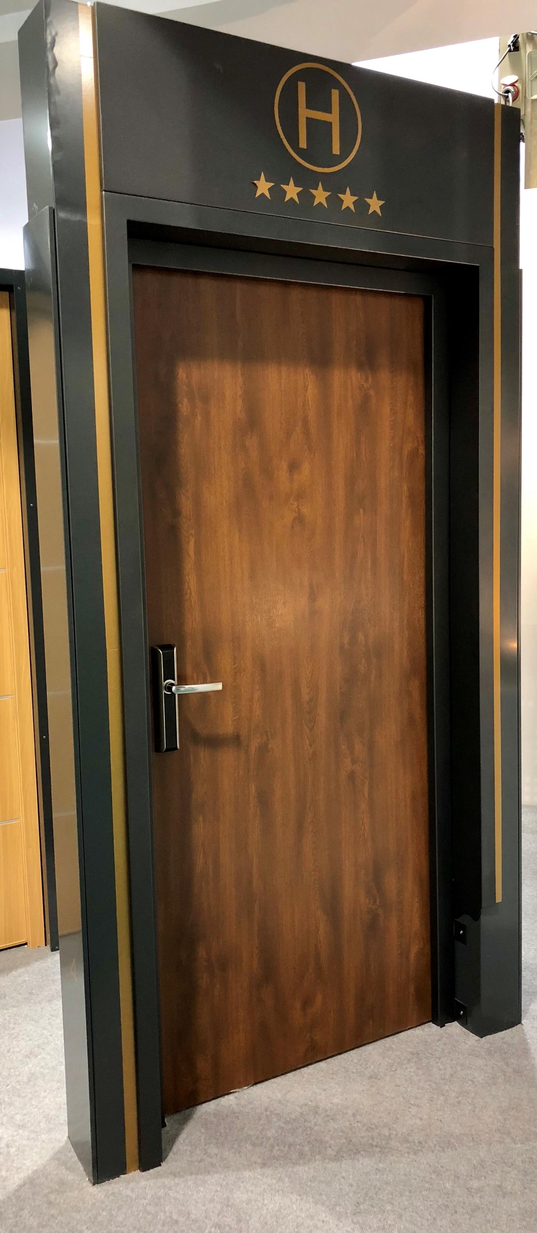 Portes maderalia rubio for Porte ei2 60